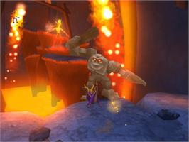 In game image of Spyro: A Hero's Tail on the Microsoft Xbox.