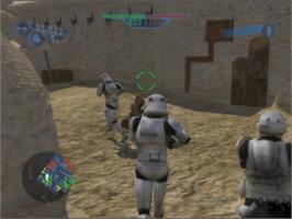 In game image of Star Wars: Battlefront on the Microsoft Xbox.