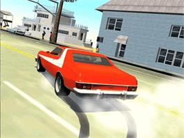 In game image of Starsky & Hutch on the Microsoft Xbox.