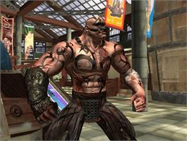 In game image of Tao Feng: Fist of the Lotus on the Microsoft Xbox.
