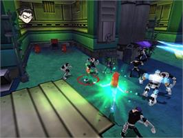 In game image of Teen Titans on the Microsoft Xbox.