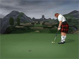 In game image of Tiger Woods PGA Tour 2003 on the Microsoft Xbox.
