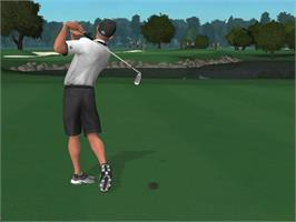 In game image of Tiger Woods PGA Tour 2004 on the Microsoft Xbox.