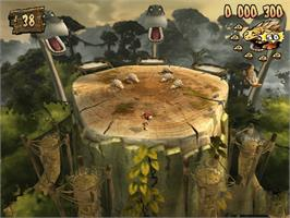 In game image of Tork: Prehistoric Punk on the Microsoft Xbox.