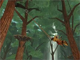 In game image of Ty the Tasmanian Tiger 2: Bush Rescue on the Microsoft Xbox.