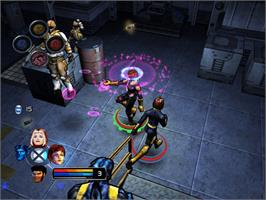 In game image of X-Men: Legends on the Microsoft Xbox.