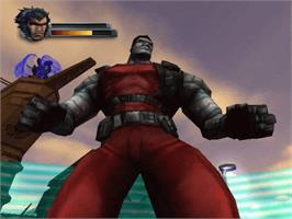 In game image of X2: Wolverine's Revenge on the Microsoft Xbox.