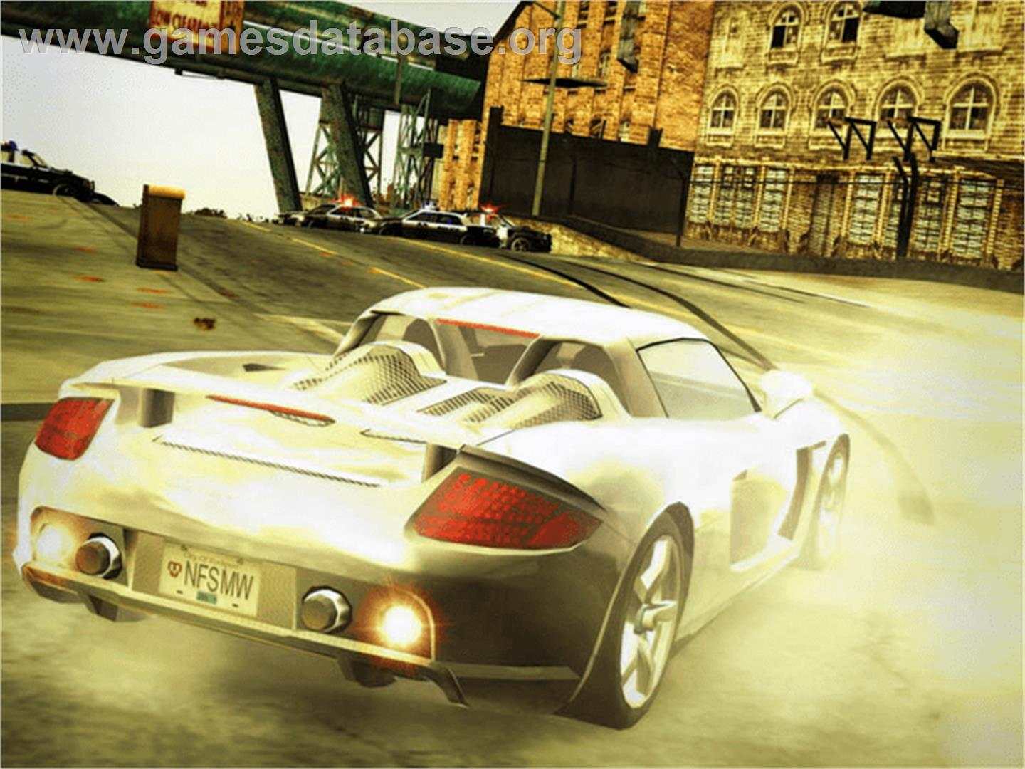 Need for Speed: Most Wanted (Black Edition) - Microsoft Xbox - Artwork - In Game