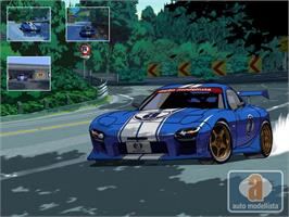 Title screen of Auto Modellista on the Microsoft Xbox.
