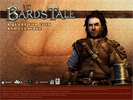 Title screen of Bard's Tale on the Microsoft Xbox.