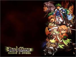 Title screen of Black Stone: Magic & Steel on the Microsoft Xbox.