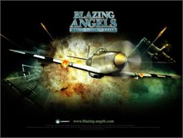 Title screen of Blazing Angels: Squadrons of WWII on the Microsoft Xbox.