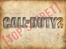Title screen of Call of Duty 2: Big Red One on the Microsoft Xbox.