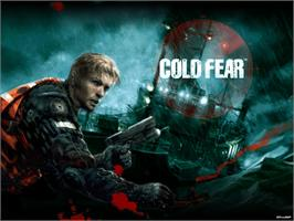Title screen of Cold Fear on the Microsoft Xbox.