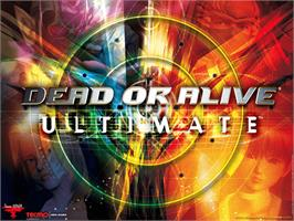 Title screen of Dead or Alive Ultimate on the Microsoft Xbox.