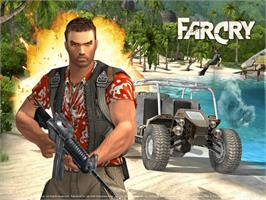 Title screen of Far Cry: Instincts on the Microsoft Xbox.