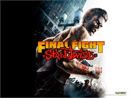 Title screen of Final Fight: Streetwise on the Microsoft Xbox.