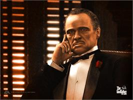 Title screen of Godfather (Limited Edition) on the Microsoft Xbox.