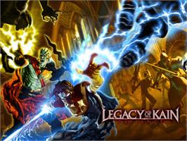 Title screen of Legacy of Kain: Defiance on the Microsoft Xbox.