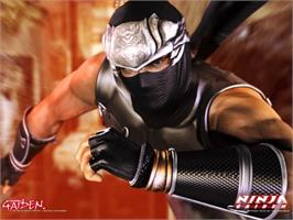 Title screen of Ninja Gaiden on the Microsoft Xbox.