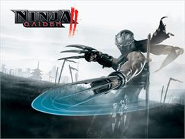 Title screen of Ninja Gaiden Black on the Microsoft Xbox.