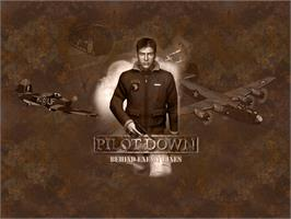 Title screen of Pilot Down: Behind Enemy Lines on the Microsoft Xbox.