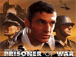 Title screen of Prisoner of War on the Microsoft Xbox.