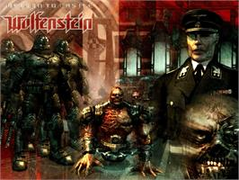 Title screen of Return to Castle Wolfenstein: Tides of War on the Microsoft Xbox.