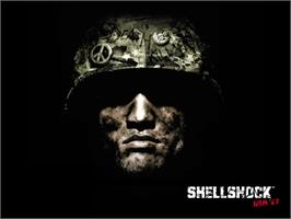 Title screen of Shellshock: Nam '67 on the Microsoft Xbox.