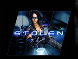 Title screen of Stolen on the Microsoft Xbox.