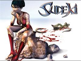 Title screen of Sudeki on the Microsoft Xbox.