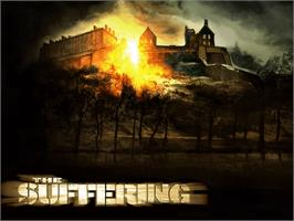 Title screen of Suffering on the Microsoft Xbox.