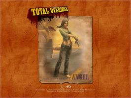 Title screen of Total Overdose: A Gunslinger's Tale in Mexico on the Microsoft Xbox.
