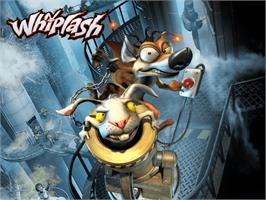 Title screen of Whiplash on the Microsoft Xbox.