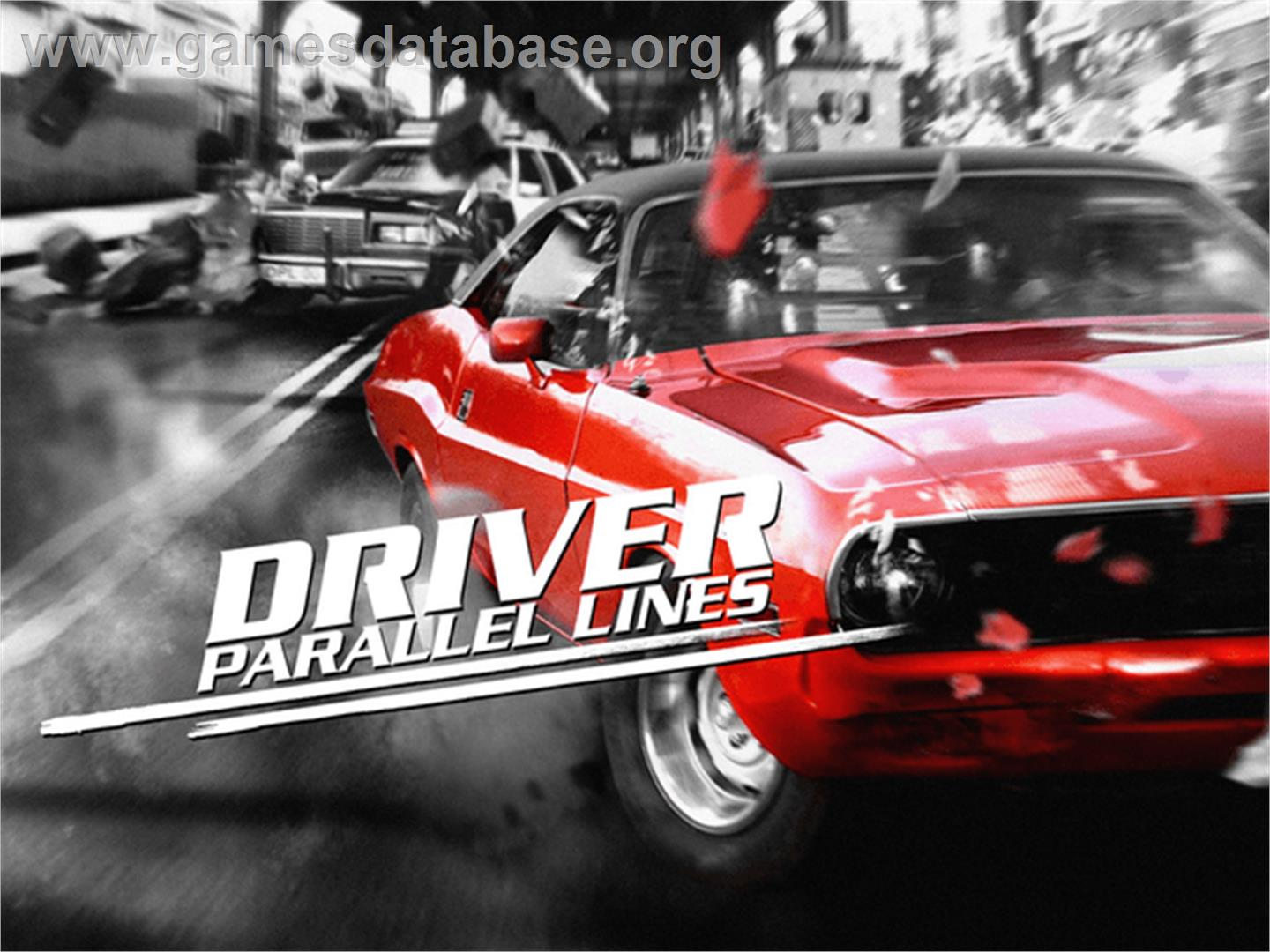 Driver: Parallel Lines - Microsoft Xbox - Artwork - Title Screen