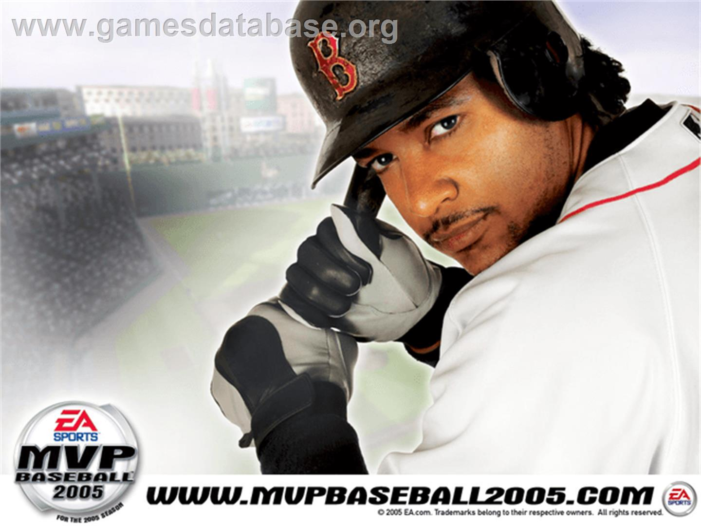 MVP Baseball 2005 - Microsoft Xbox - Artwork - Title Screen