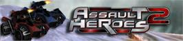 Banner artwork for Assault Heroes 2.