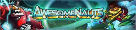 Banner artwork for Awesomenauts.