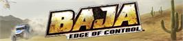 Banner artwork for BAJA: Edge of Control.