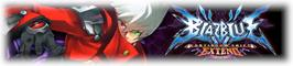 Banner artwork for BLAZBLUE CONTINUUM SHIFT EXTEND.