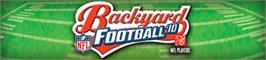 Banner artwork for Backyard Football '10.