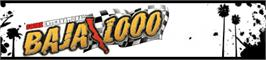 Banner artwork for Baja 1000.
