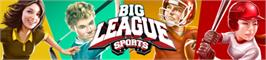 Banner artwork for Big League Sports.