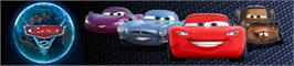 Banner artwork for Cars 2: The Video Game.