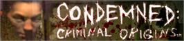 Banner artwork for Condemned.