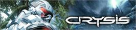 Banner artwork for Crysis.