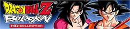 Banner artwork for DBZ Budokai HD Collection.