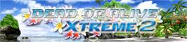 Banner artwork for DEAD OR ALIVE Xtreme 2.