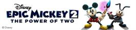 Banner artwork for Disney Epic Mickey 2: The Power of Two.