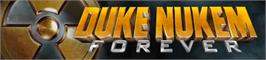 Banner artwork for Duke Nukem Forever.